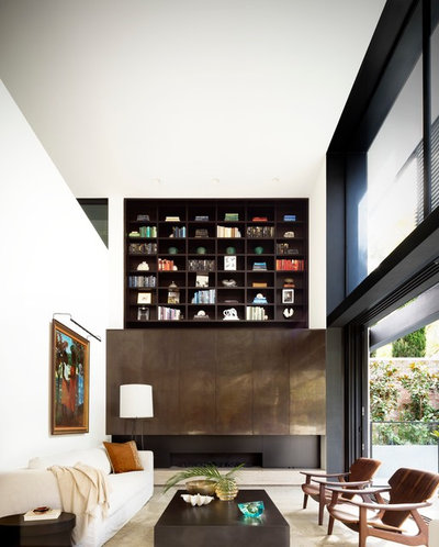 Contemporary Living Room by Tobias Partners