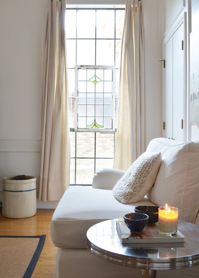 Shabby-chic Style Living Room by Sarah Greenman