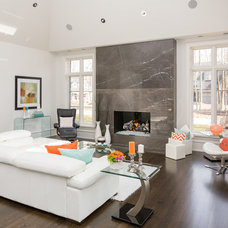 Contemporary Living Room by David Small Designs