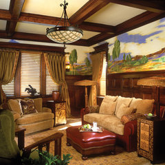 traditional living room by Capitol Lighting