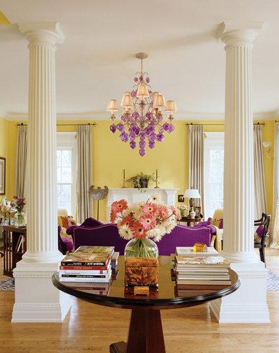 Drei farben lila in der wohnung ein muss for Farben in der wohnung