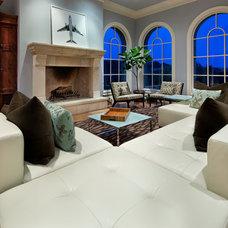 Traditional Living Room Cord Shiflet Dell Estate