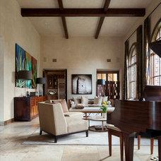 Mediterranean Living Room Cord Shiflet Modern Mediterranean