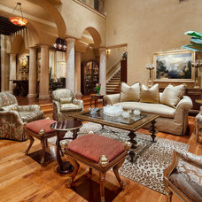 Mediterranean Living Room Cord Shiflet Rob Roy Estate