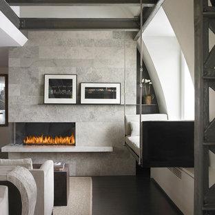 Corner Left Fireplace