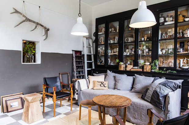 Eclectic Living Room by Nikki To Photography