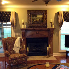 Traditional Living Room by The Interiors Workroom, Inc