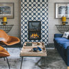 Fresh Ideas for Tiling Your Fireplace