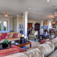 Traditional Living Room by Concierge Design & Project Management, LLC