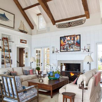 Coronado Back Bay Shingle Style Residence