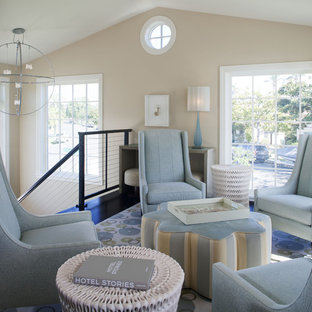 Coronado, CA. Beach House. Full Service Design Firm. Sitting Room