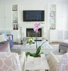 contemporary living room by barlow reid design