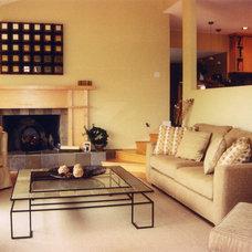 Contemporary Living Room by Rena Poulsen Design