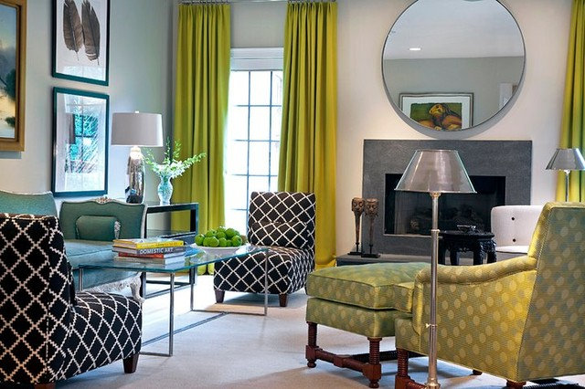 Contemporary Living Room by Gerald Charles Tolomeo Ltd.