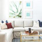Mini Loft Contemporary Living Room New York By Fo