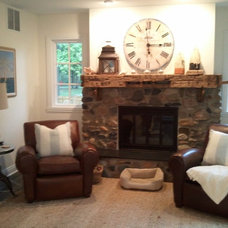 Eclectic Living Room by Kristen Moorehouse