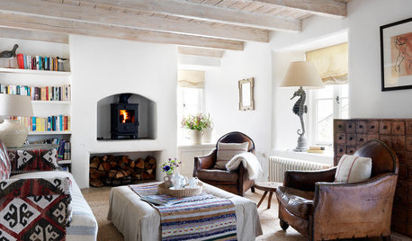 Houzz Tour: Period Style and Modern Comfort in a Cornish Cottage