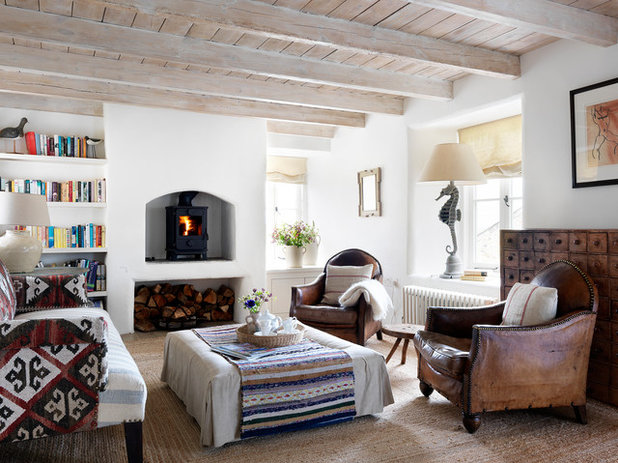 Country Living Room by Marion Lichtig Ltd