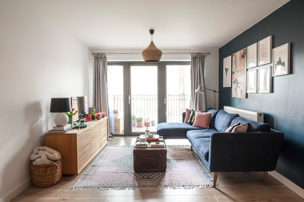Eclectic Living Room by Simone Morciano