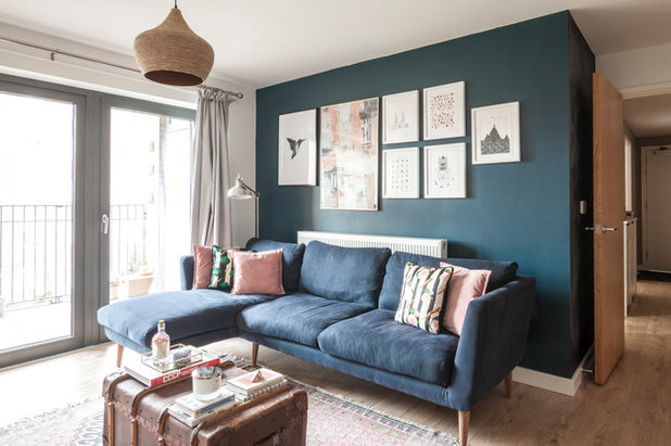 Eclectic Living Room by Simone Morciano Photography