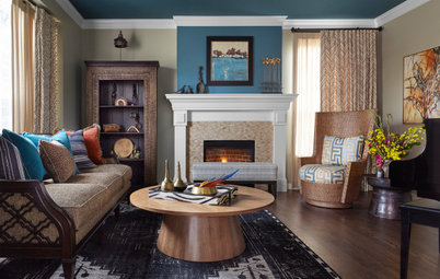 New This Week: 7 Colorful Living Rooms
