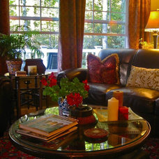 Traditional Living Room by Anita Diaz for Far Above Rubies