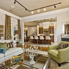Contemporary Living Room by Maison de Reve Builders LLC