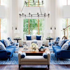Eclectic Living Room by Woodcraft Furniture