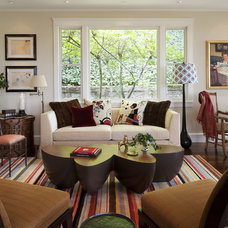 Eclectic Living Room by Tommy Chambers Interiors, Inc.