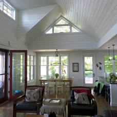 Traditional Living Room by Ridley Windows & Doors