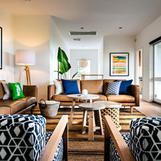 Midcentury Living Room by Collected Interiors