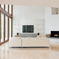 Contemporary Living Room by Nicholaeff Architecture + Design