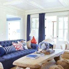 Eclectic Living Room by amanda nisbet