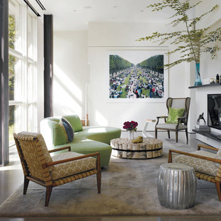 Country Chic Living Room Houzz