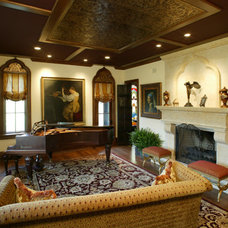 Traditional Living Room by Bruce Palmer Interior Design