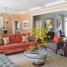 Contemporary Living Room by S. B. Long Interiors