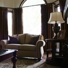 Traditional Living Room by Ethan Allen Edmonton