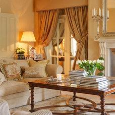 Traditional Living Room by Helen Turkington Design
