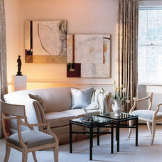 Eclectic Living Room by Beverly Rivkind Interior Design