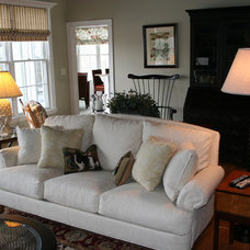 Traditional Living Room by Kittle's Studio and P H Designs