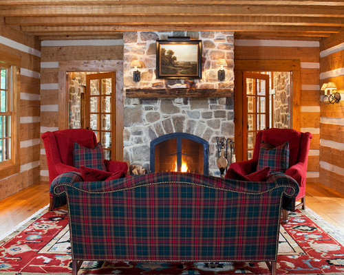 SaveEmail - Plaid Couch Houzz