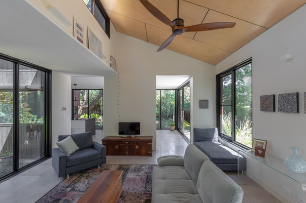 Contemporary Living Room by Rob Henry Architects