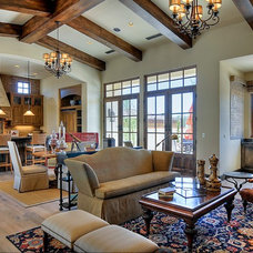 Traditional Living Room by Cullum Homes and  Renovations