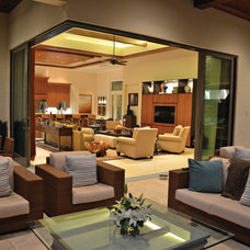 Contemporary Living Room by Couture-Homes