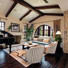 Contemporary Living Room by Orange Coast Interior Design