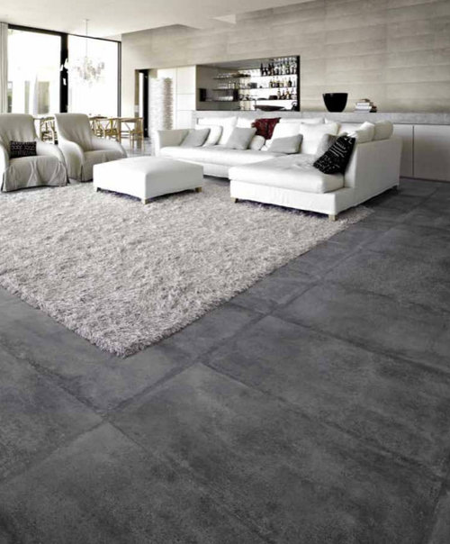 Concrete Floor Tile Ideas Pictures Remodel And Decor