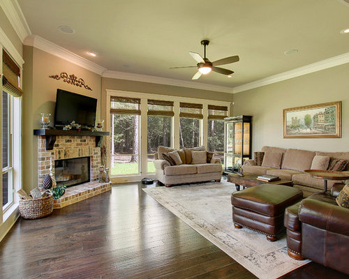 Green New Orleans Living Room Design Ideas Pictures Remodel Decor