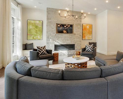 Modern New Orleans Living Room Design Ideas Remodels Photos Houzz