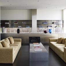 Contemporary Living Room by Matarozzi Pelsinger Builders