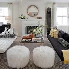 Eclectic Living Room by Green Couch Interior Design
